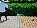 Anti-mold-spray-treatment-view-2-of-these-roof-barrel-tiles-to-prevent-mold