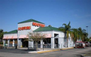 Monthly cleaning service, Hooters