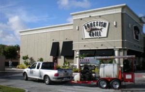 Ultra pressure equipment, monthly maintenance at Bonefish Grill