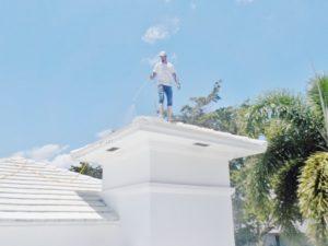 UPC roof soft wash